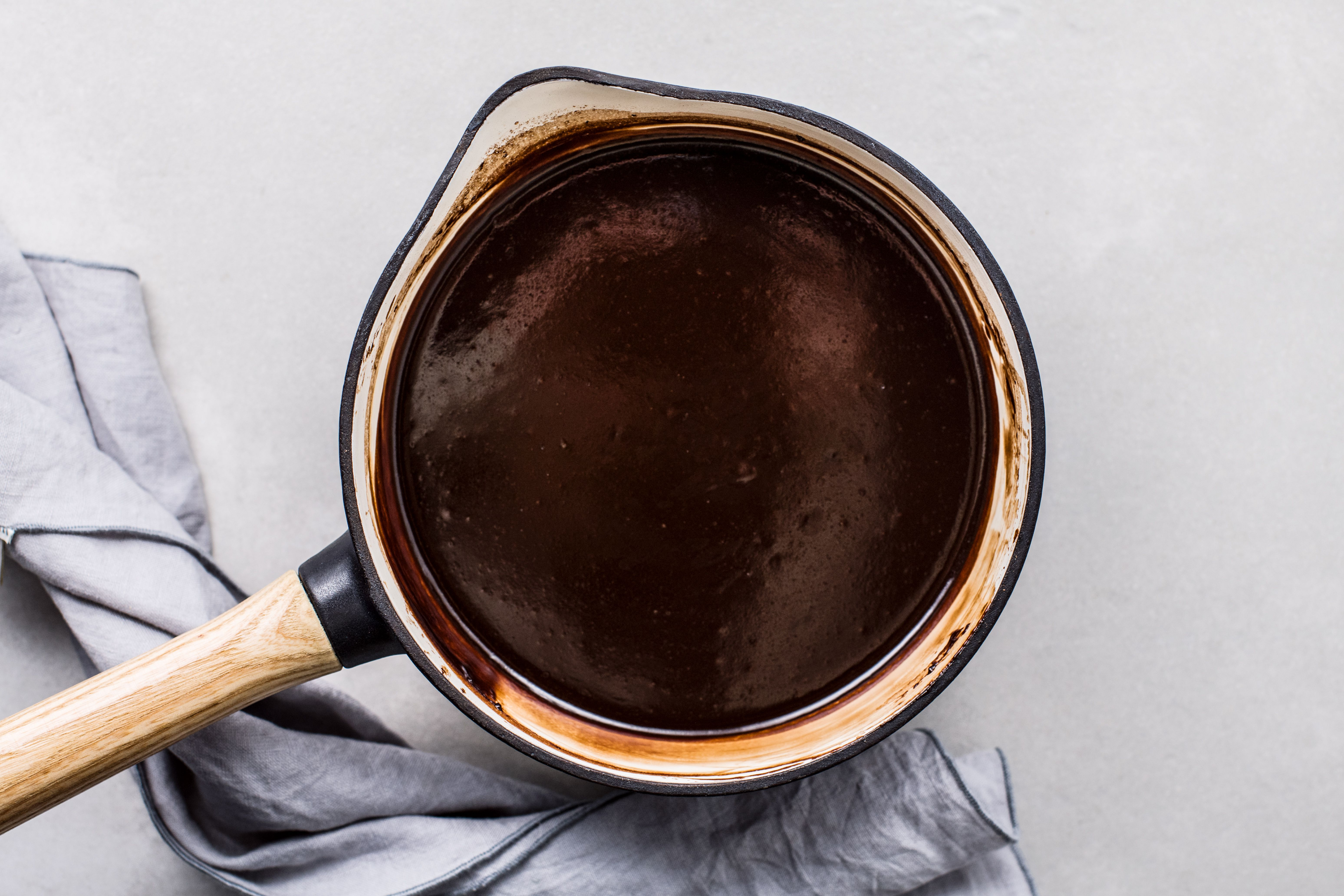 Bring to a boil, stirring constantly, hot fudge sauce recipe