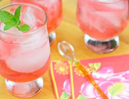 Charbay Raspberry Press Cocktail
