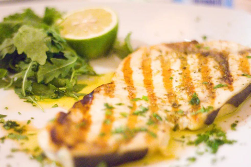 Asian-Style Grilled Ginger-Lime Swordfish
