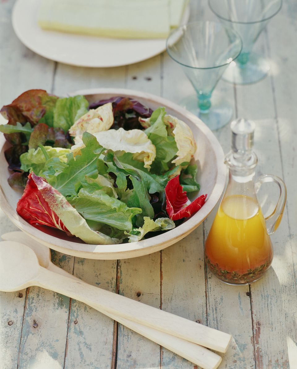 Salad with Italian Vinaigrette