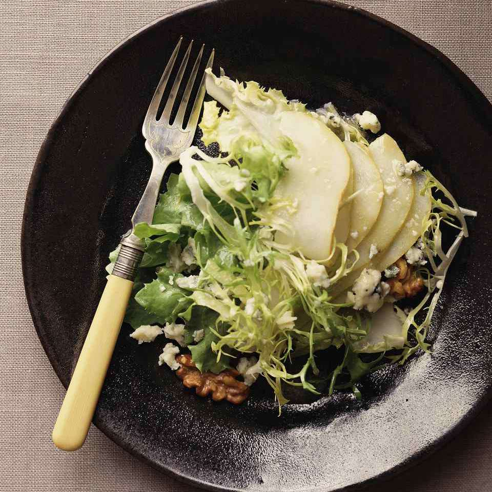 Pear and Greens Salad
