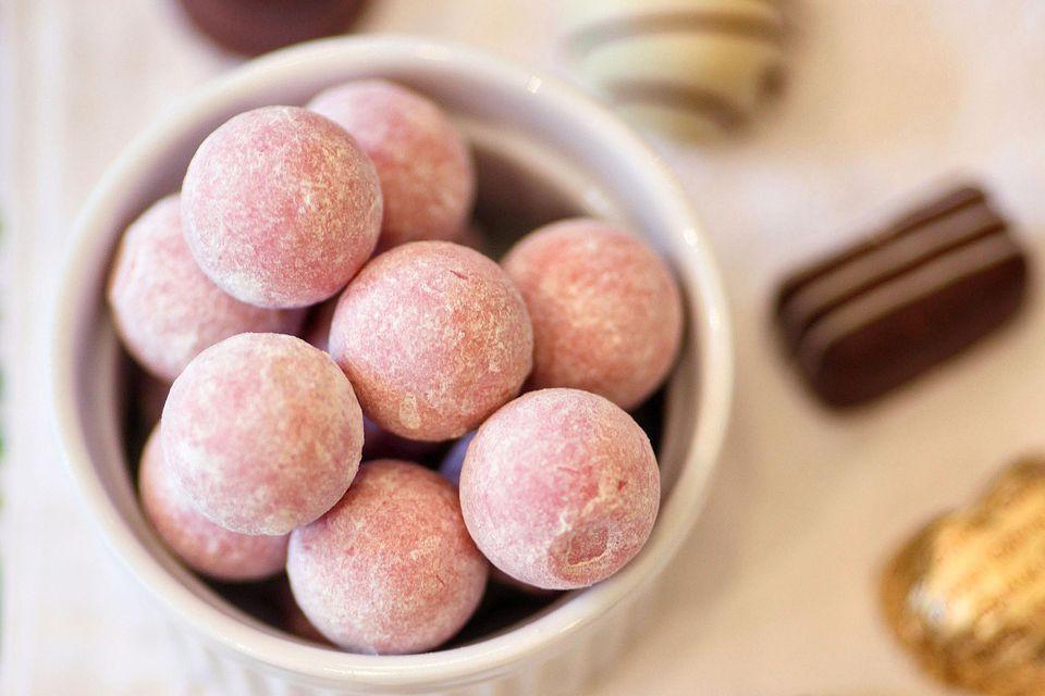 Raspberry Creams