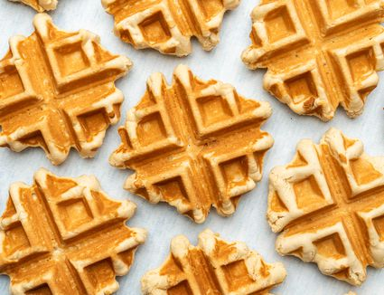 French Belgian Waffle Cookies (Gaulettes)