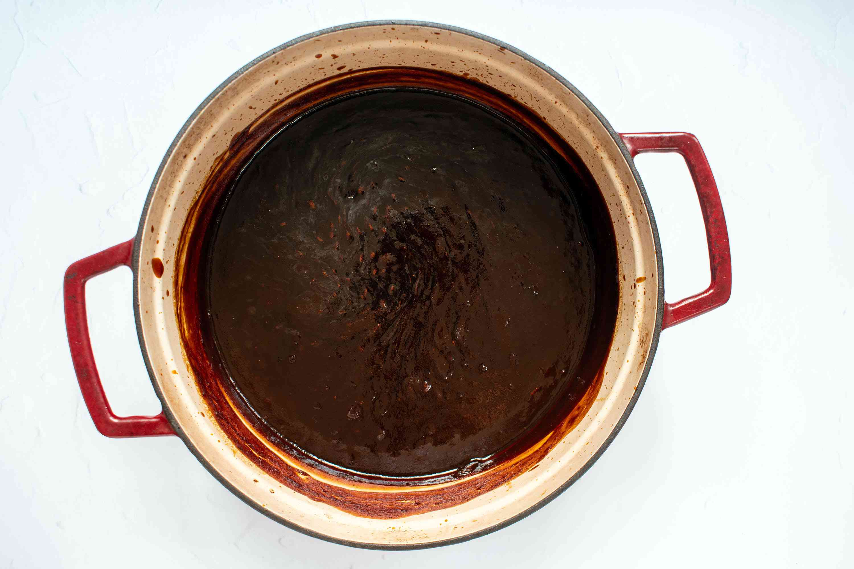 Jack Daniel's Barbecue Sauce in a pot
