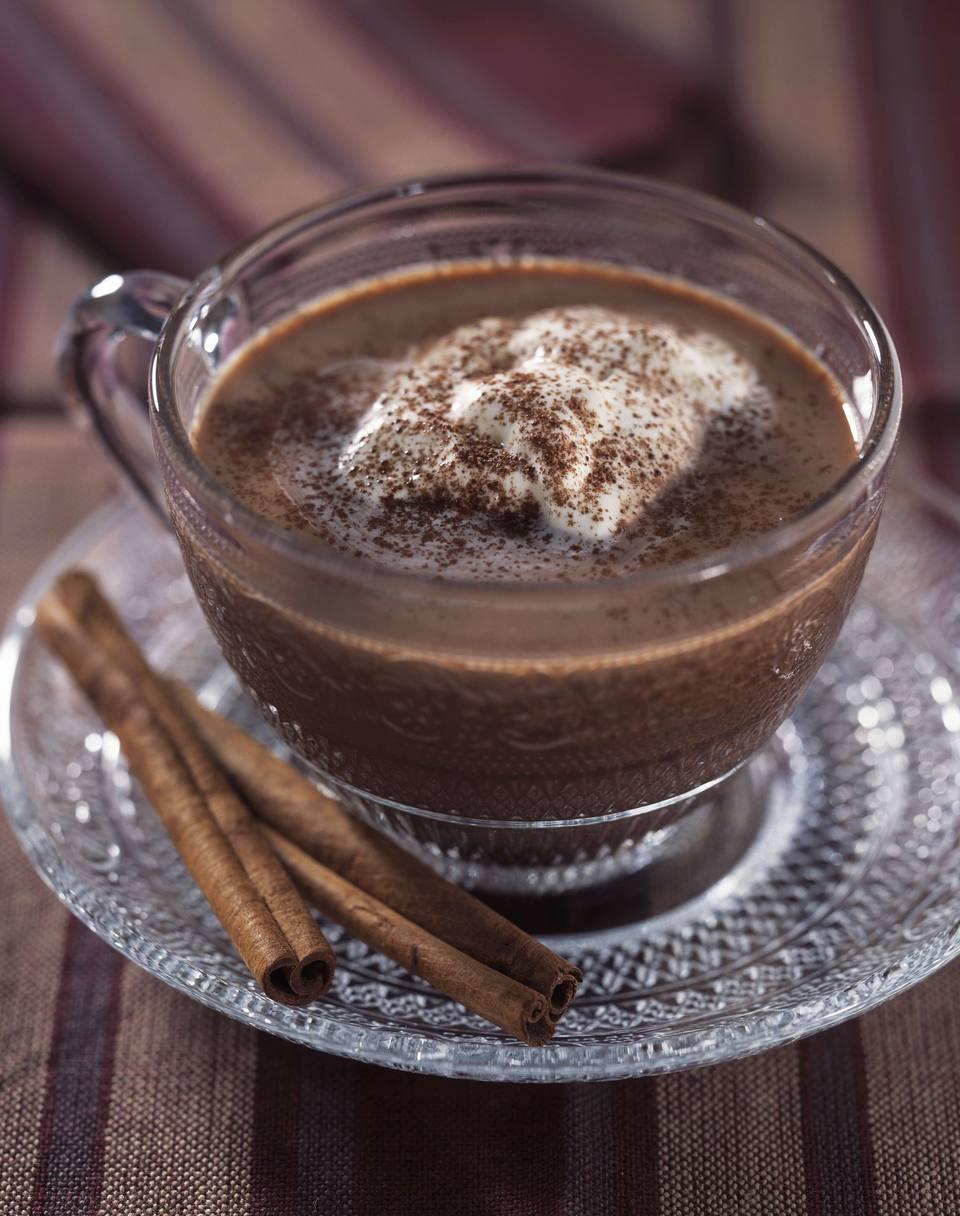 Chocolate caliente vienés