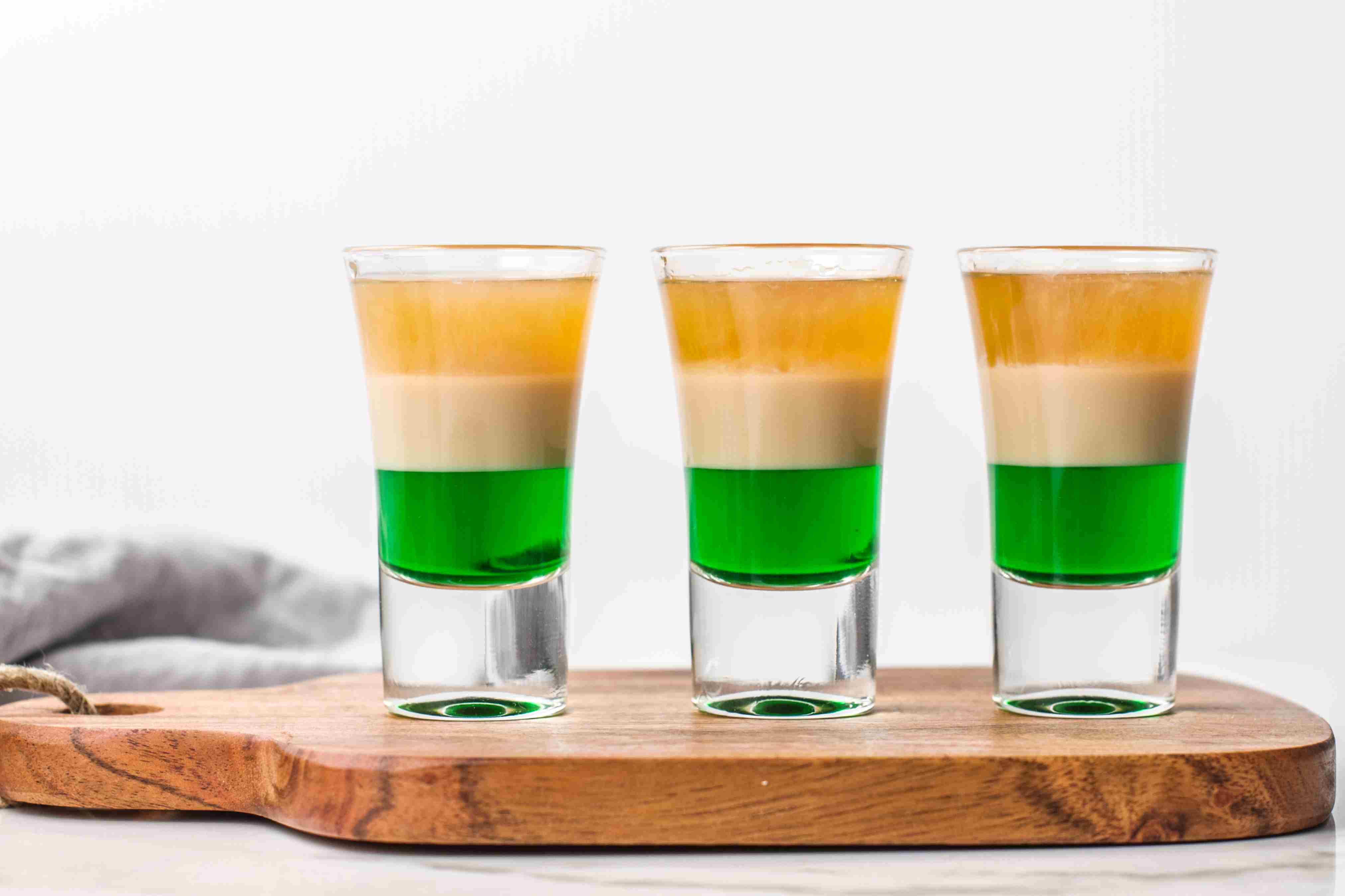Irish Flag Shooter recipe