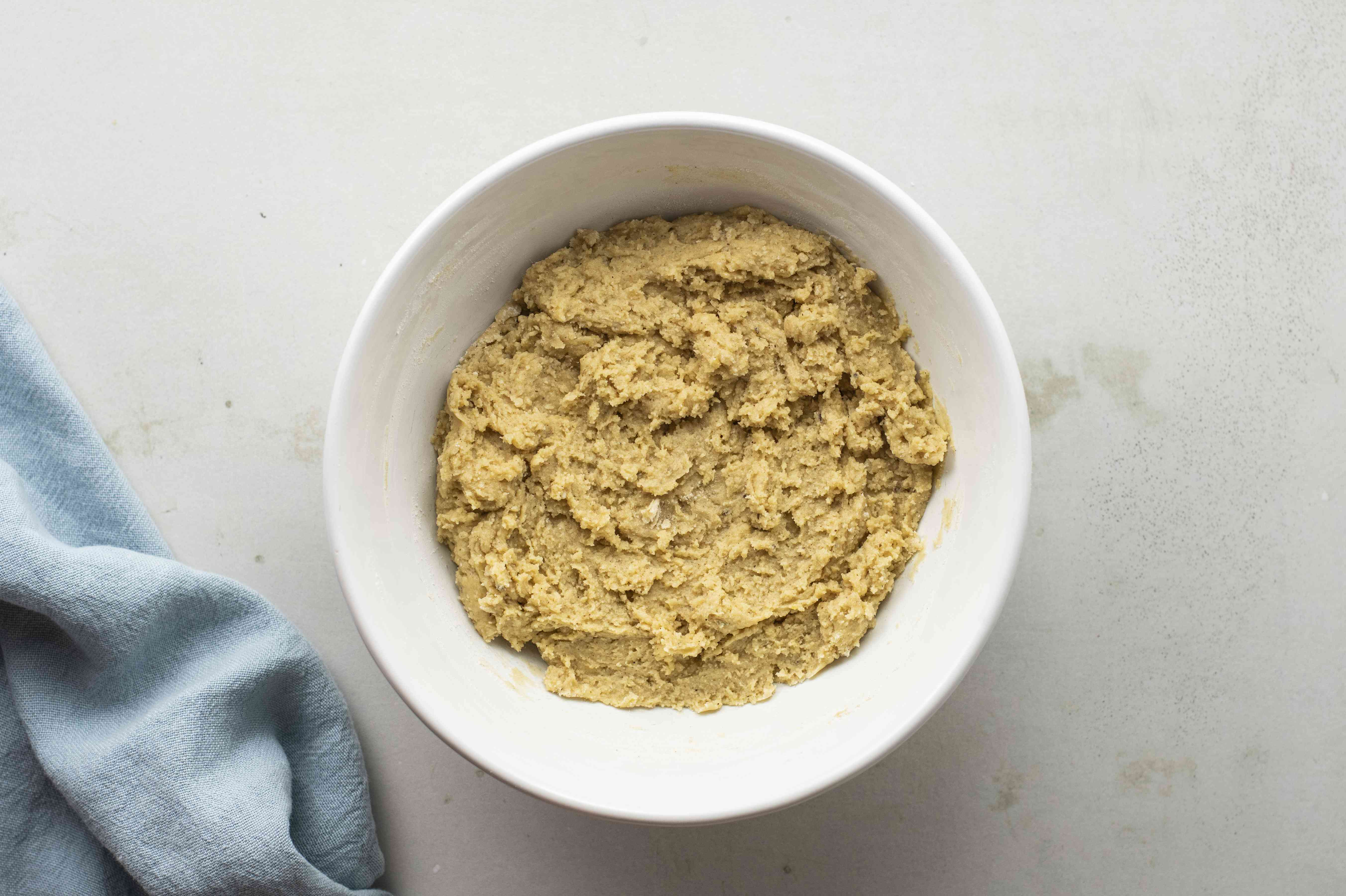 Mix in dry ingredients