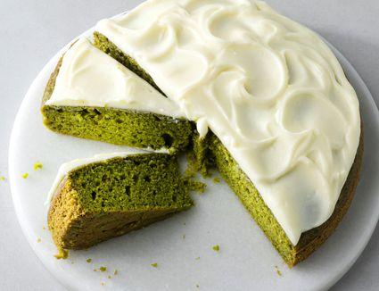 Green Tea Nokcha Cake