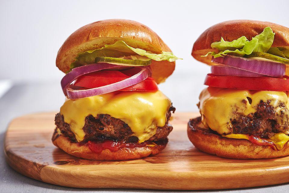 Indoor-Grilled Burger