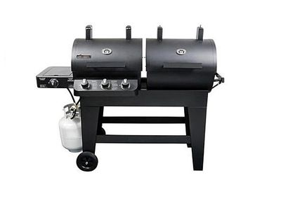 Brinkmann Dual Zone 3 Burner Gas And Charcoal Grill Bbq Reviews