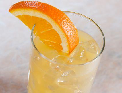 Slow Screwdriver (aka Sloe Screw) Cocktail