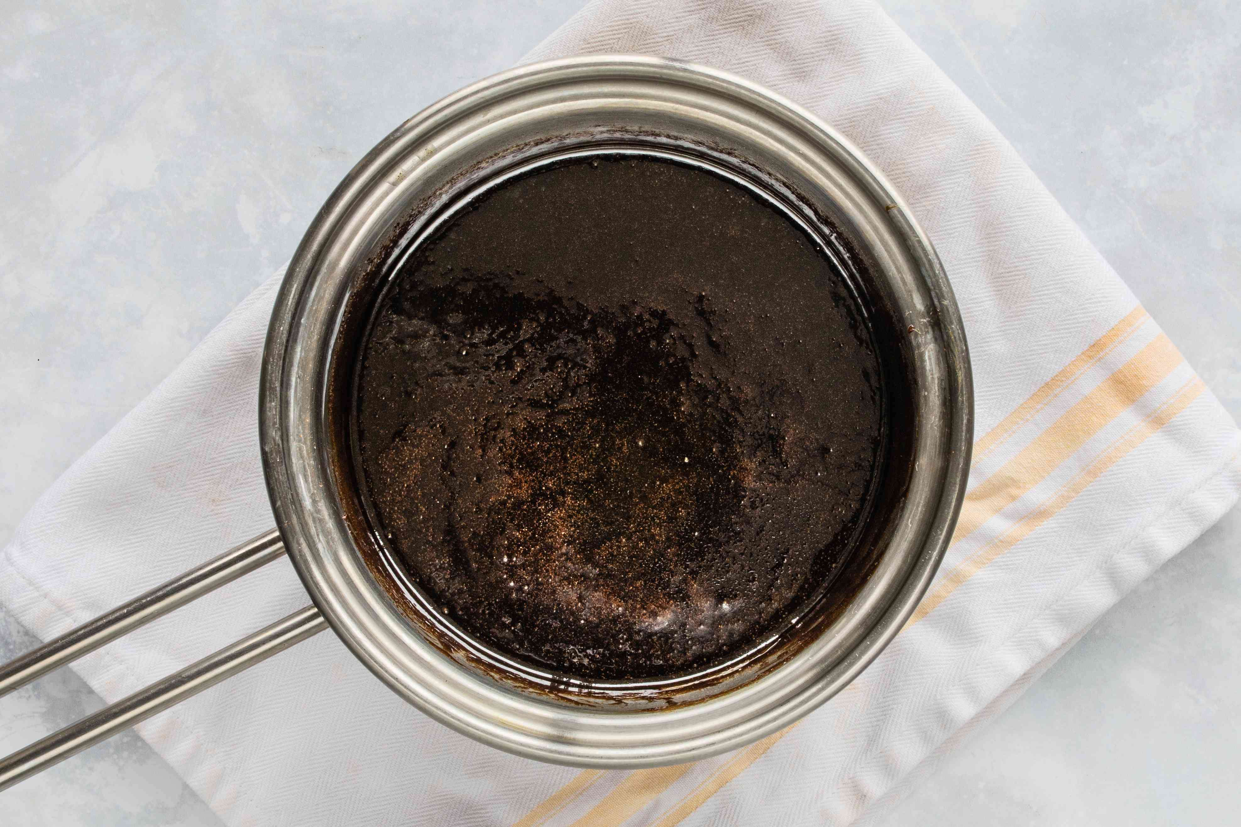 Set aside molasses mixture to cool