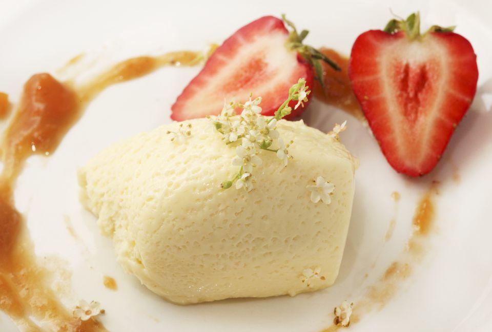 Elderflower cream