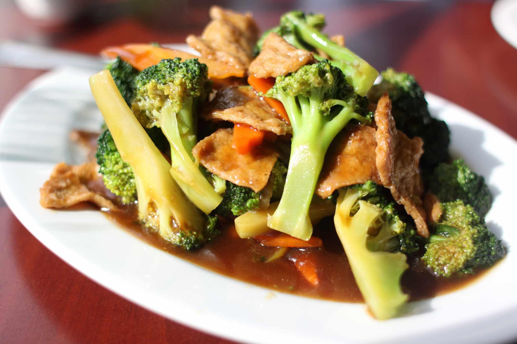 Vegan Chinese Vegetable and Seitan Stir-Fry Recipe