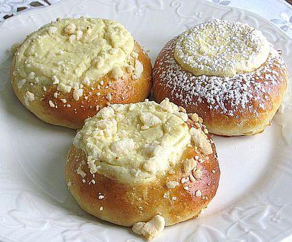 Polish Sweet Rolls or Drozdzowki