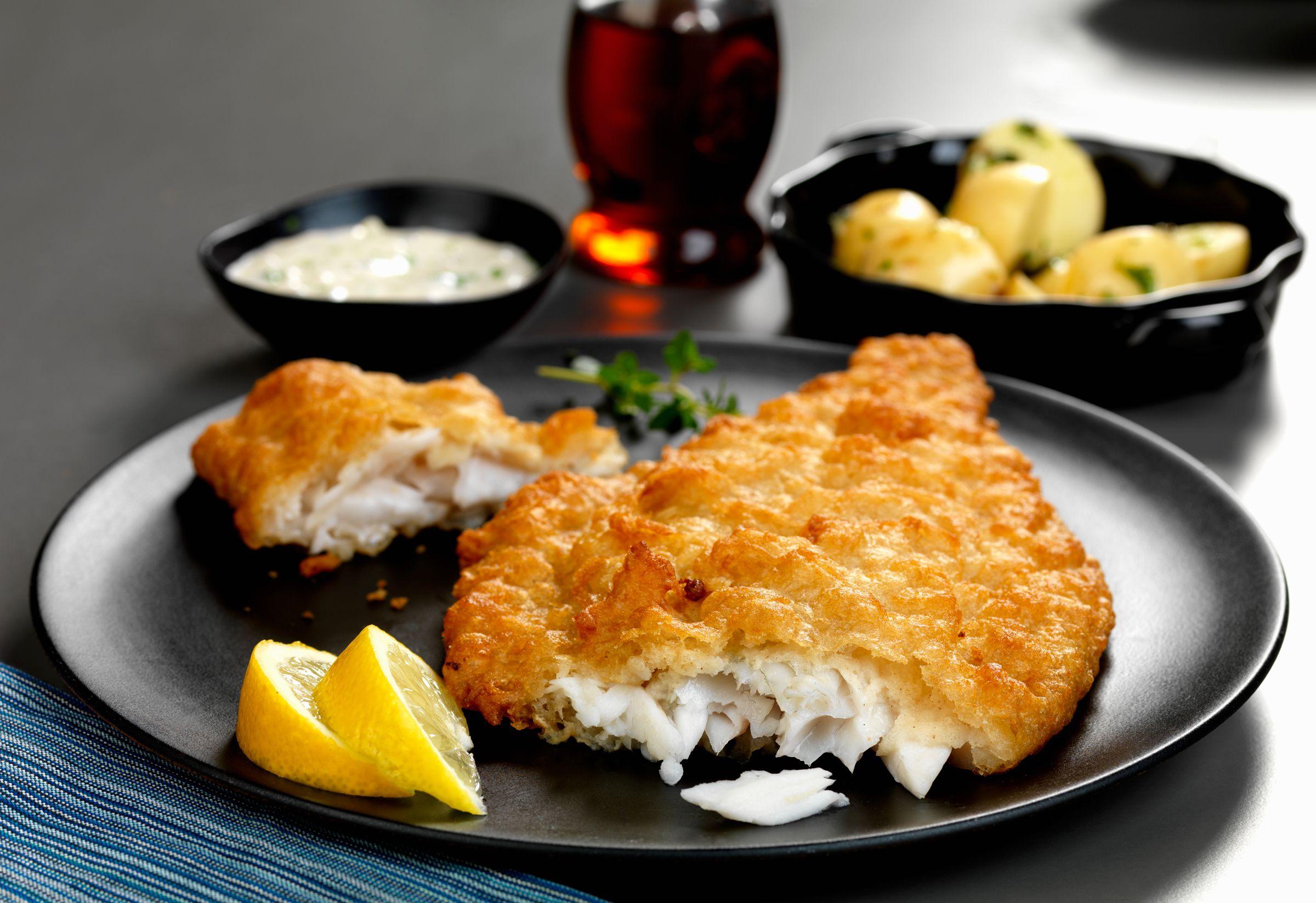 Crispy Deep-Fried Flounder Recipe