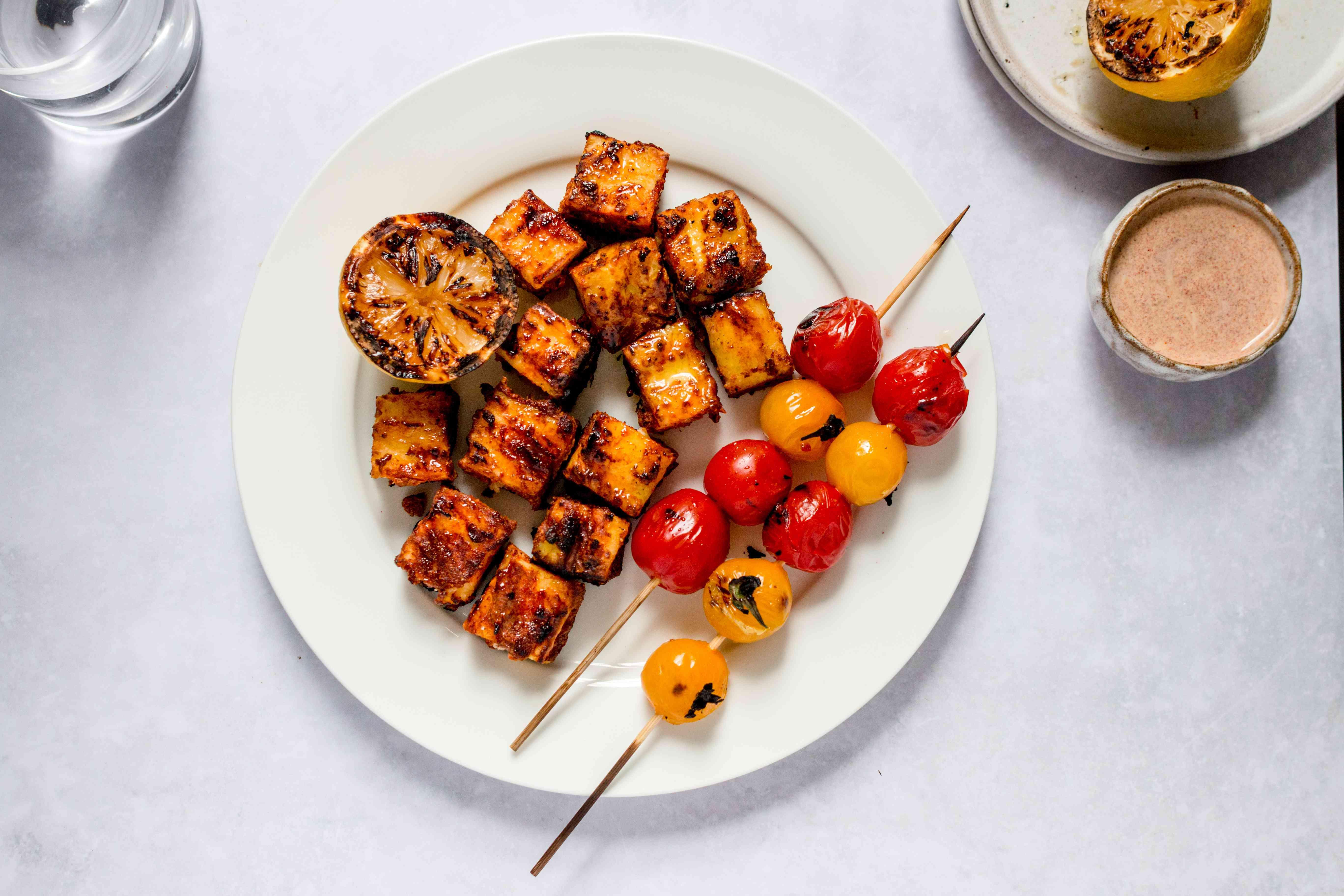Grilled Paneer in Tandoori Seasoning