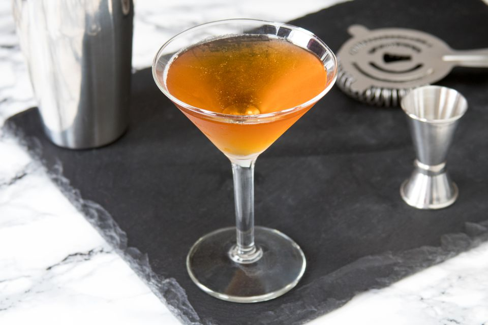 Classic Brandy Metropolitan Cocktail