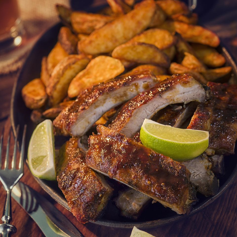 Tequila and Pineapple Pork Ribs