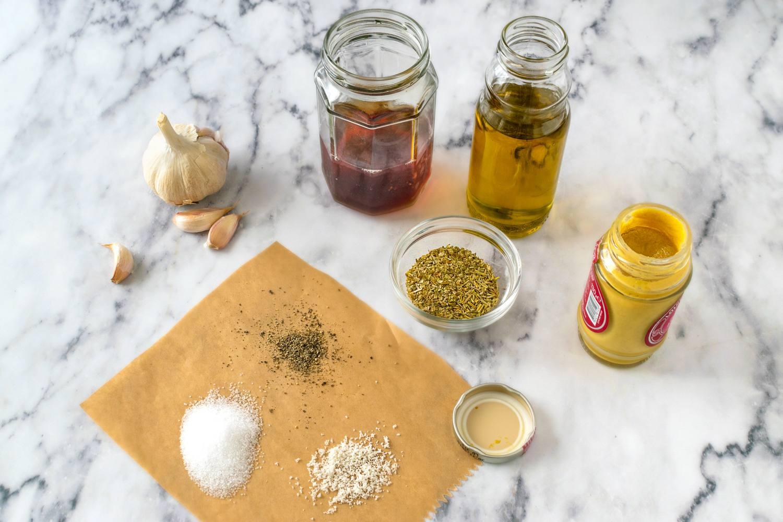 Italian salad dressing recipe ingredients