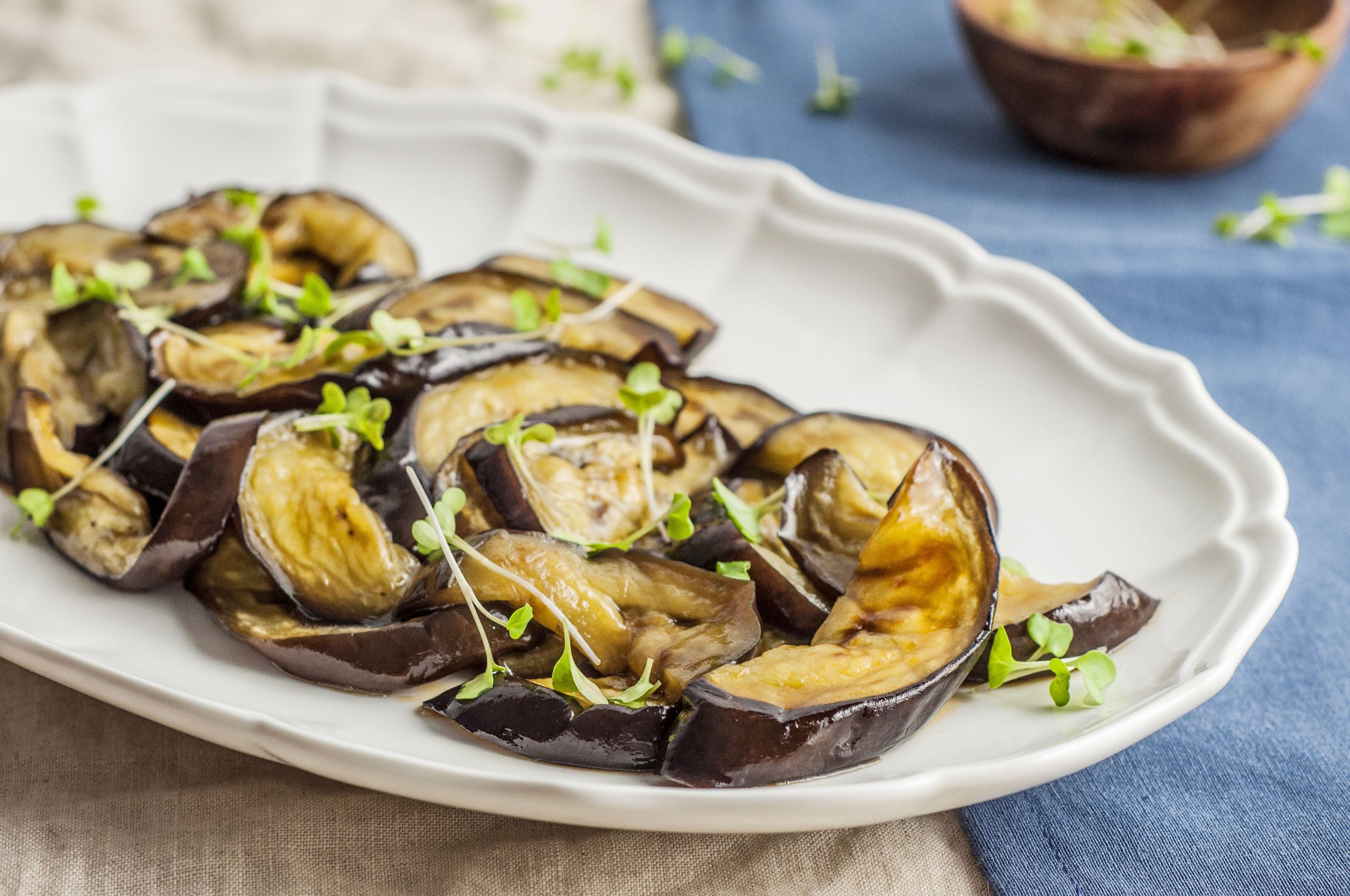 Moroccan Roasted Eggplant Recipe