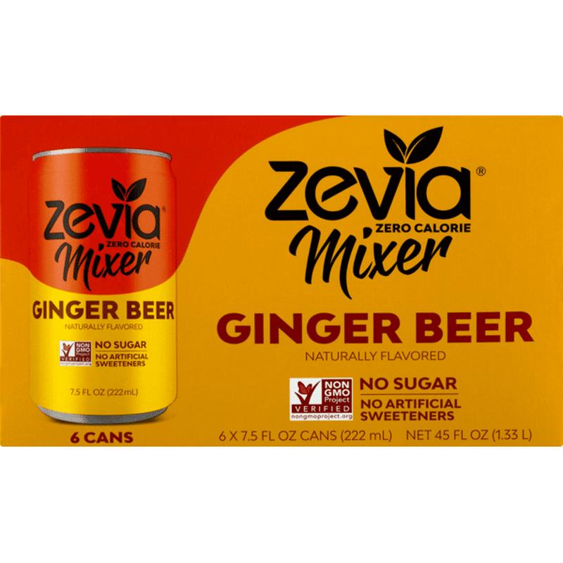 Zevia Mixer Ginger Beer