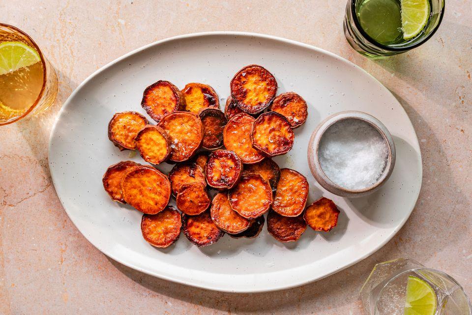 Sauteed sweet potatoes recipe