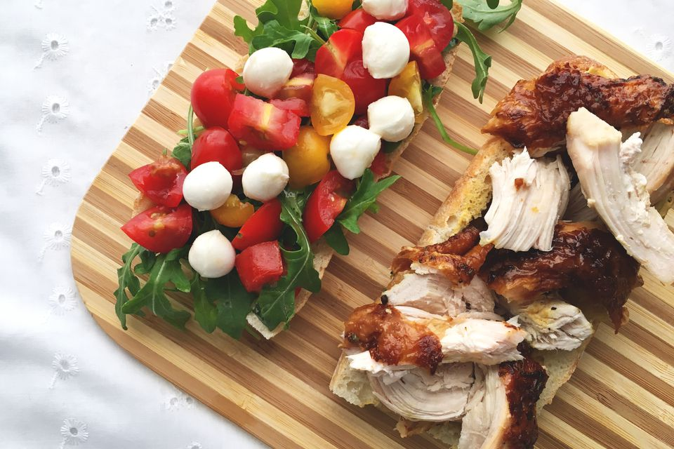 Roasted Chicken Caprese Sandwich Recipe