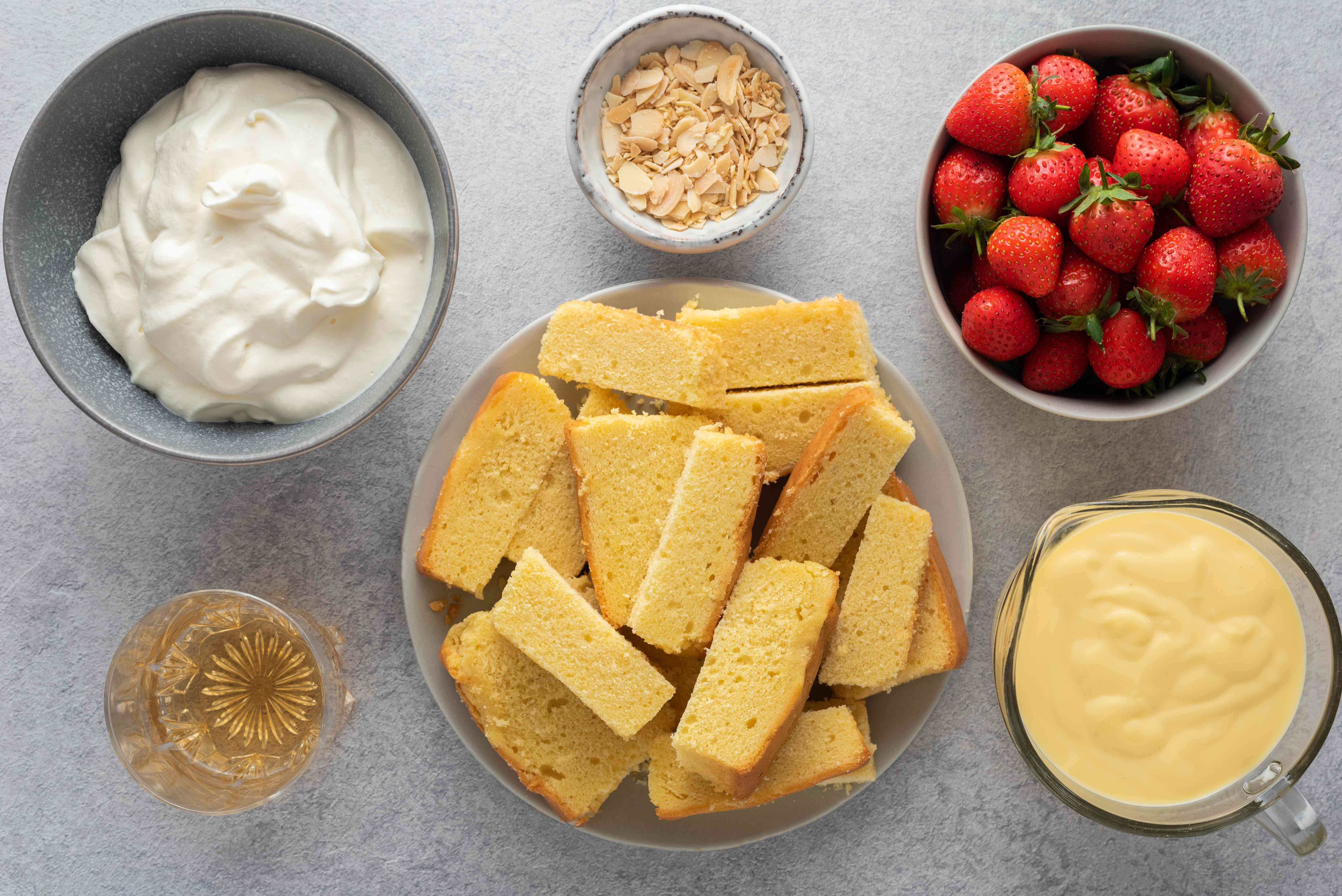Quick sherry trifle ingredients