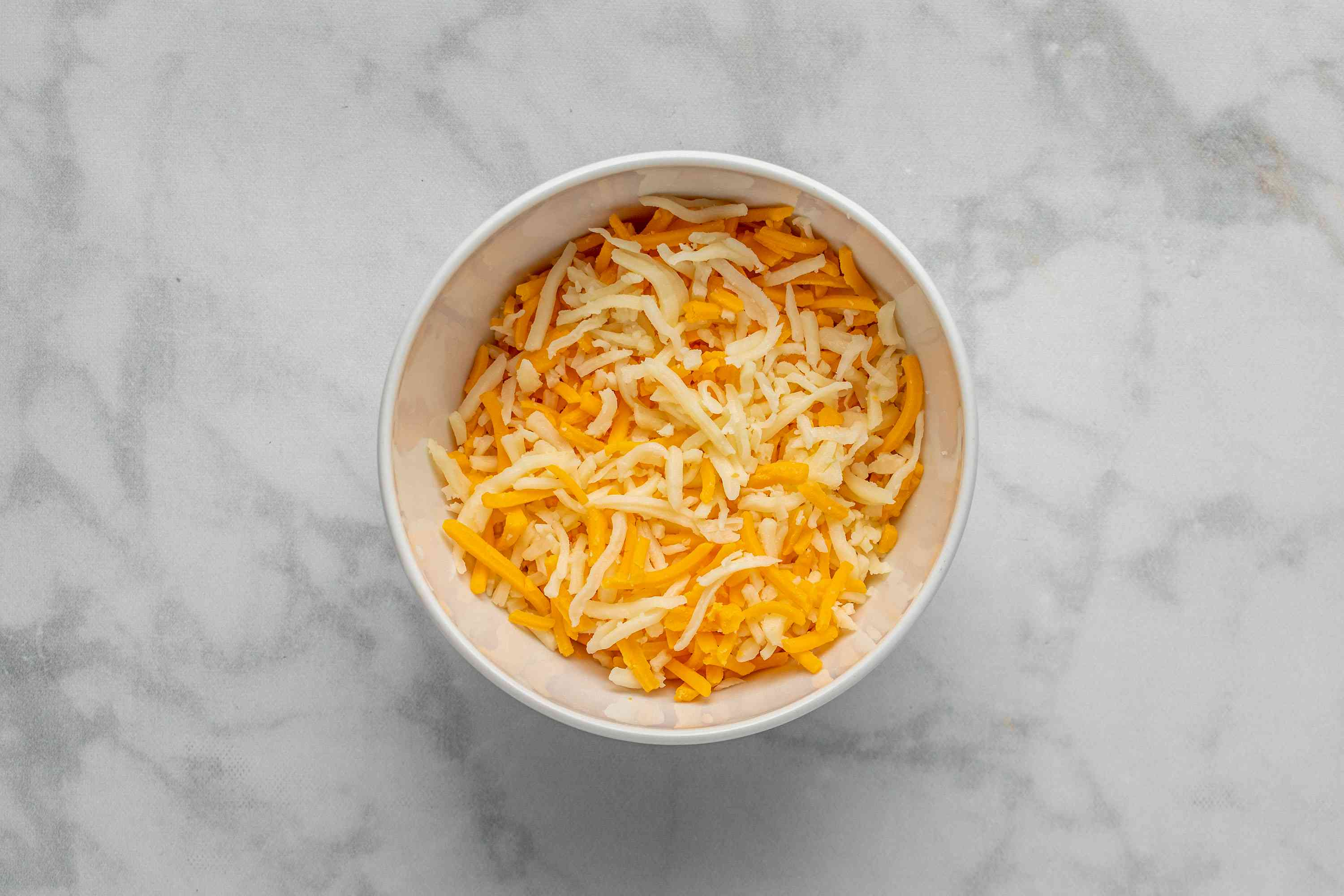 cheese mixture in a bowl
