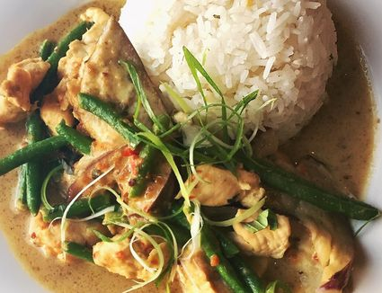 Homemade easy thai curry powder recipe the best thai coconut curry chicken recipe forumfinder Choice Image