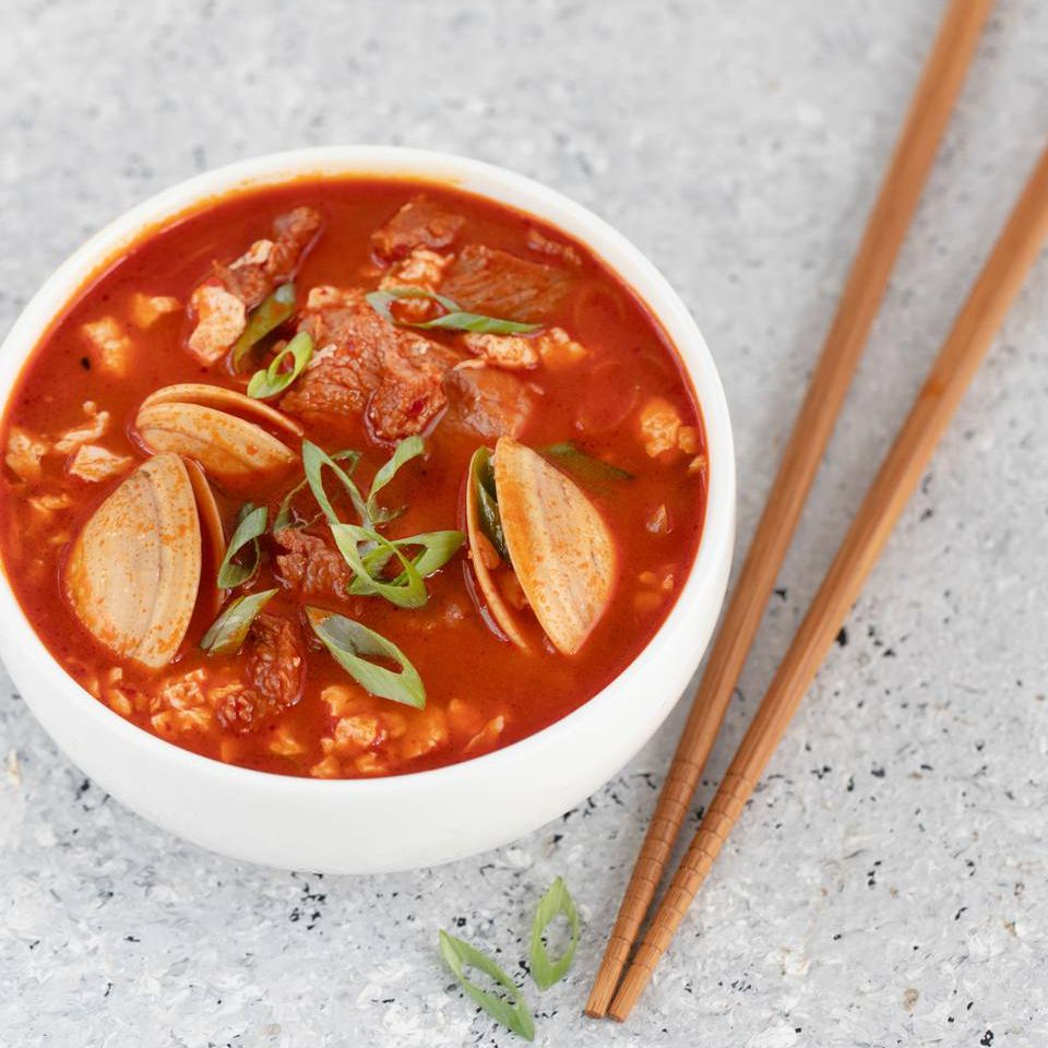 Spicy Korean Soft Tofu Stew