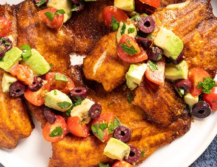Simple and Tasty Tilapia With Avocado