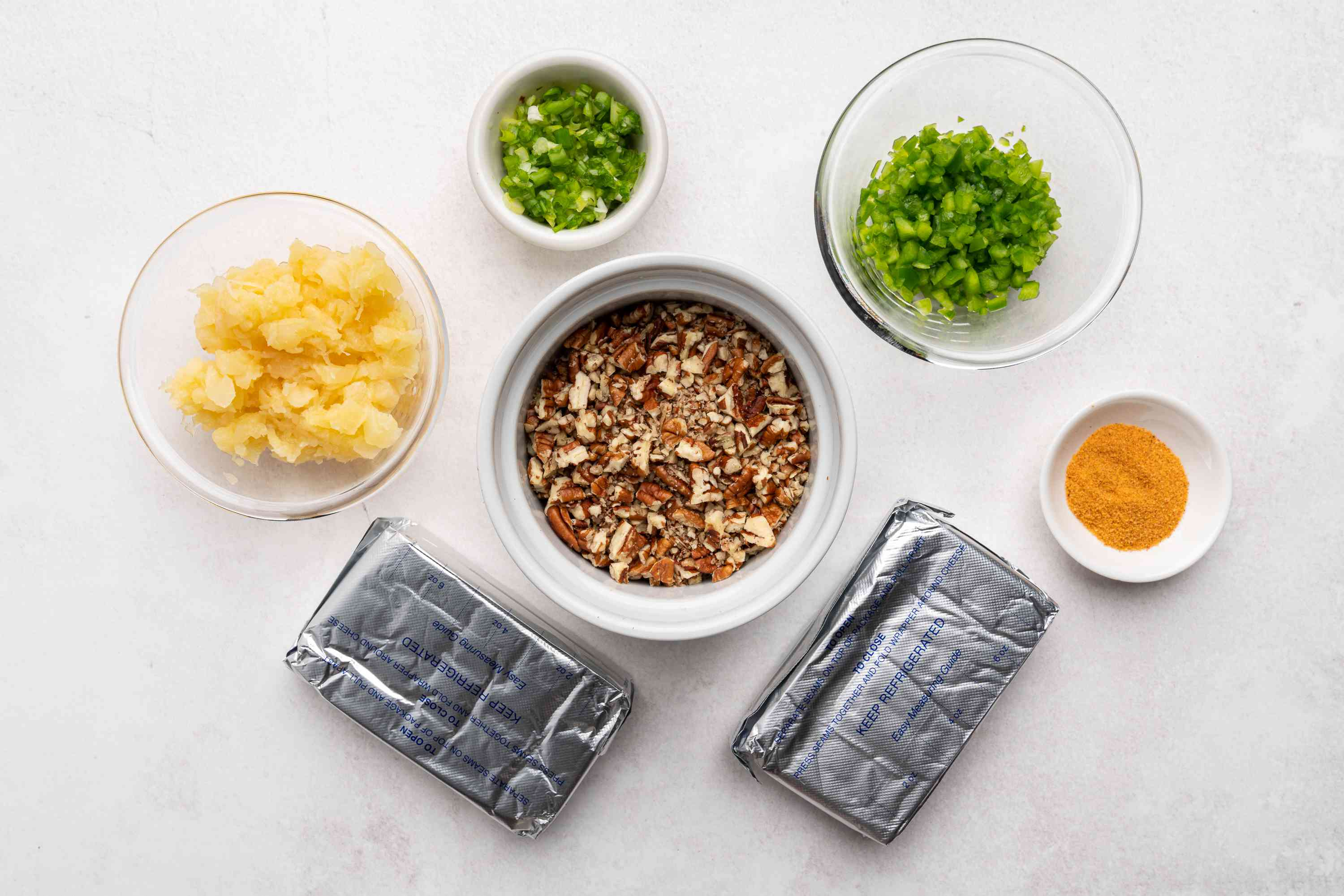 Pineapple Cheese Ball ingredients