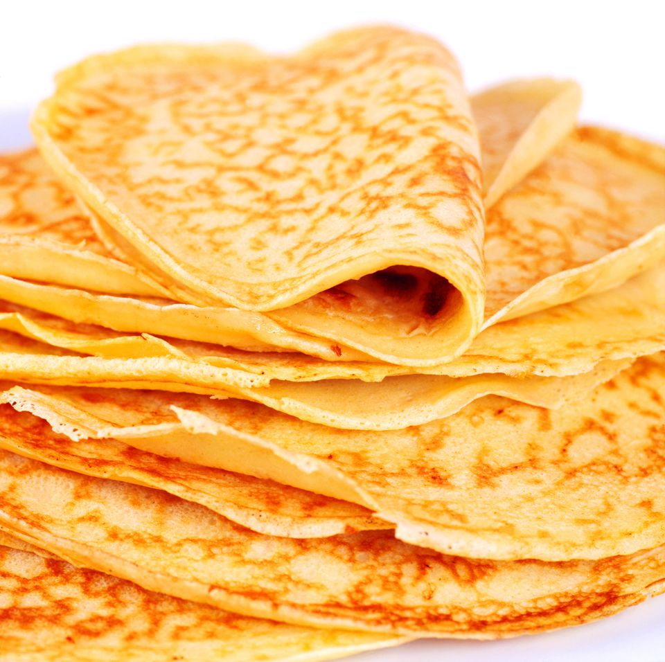 Stack of Somali Sweet Pancakes