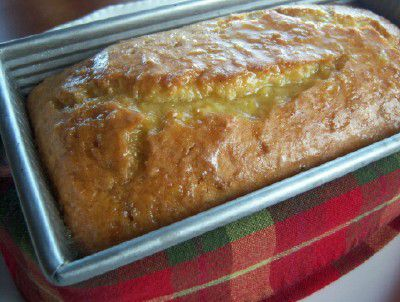 Gluten-Free / Dairy-Free Coconut Tea Loaf with Orange Glaze Recipe