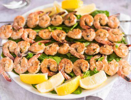 Australian shrimp on the barbie recipe