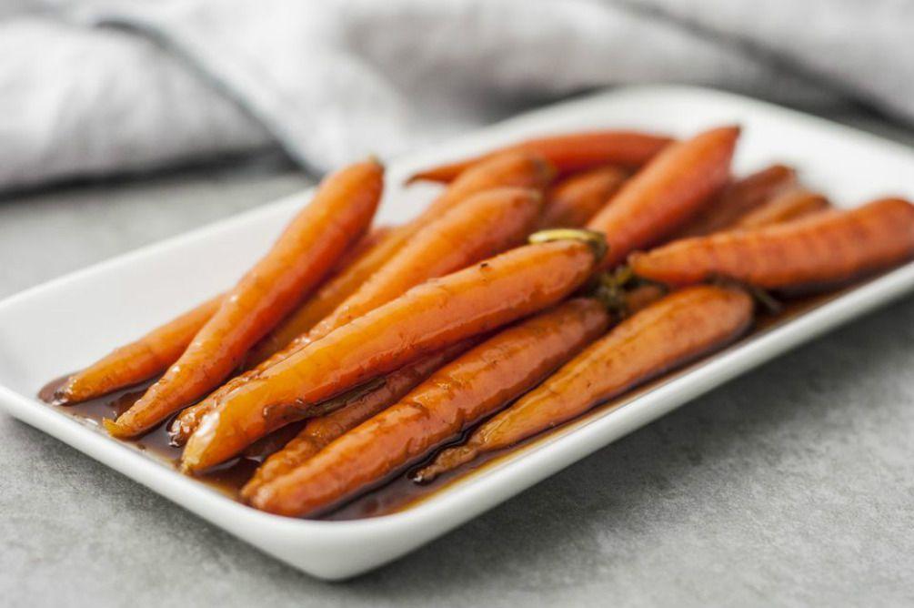 Easy brown sugar glazed carrots