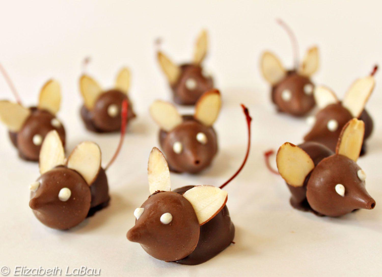 Chocolate Cherry Mice