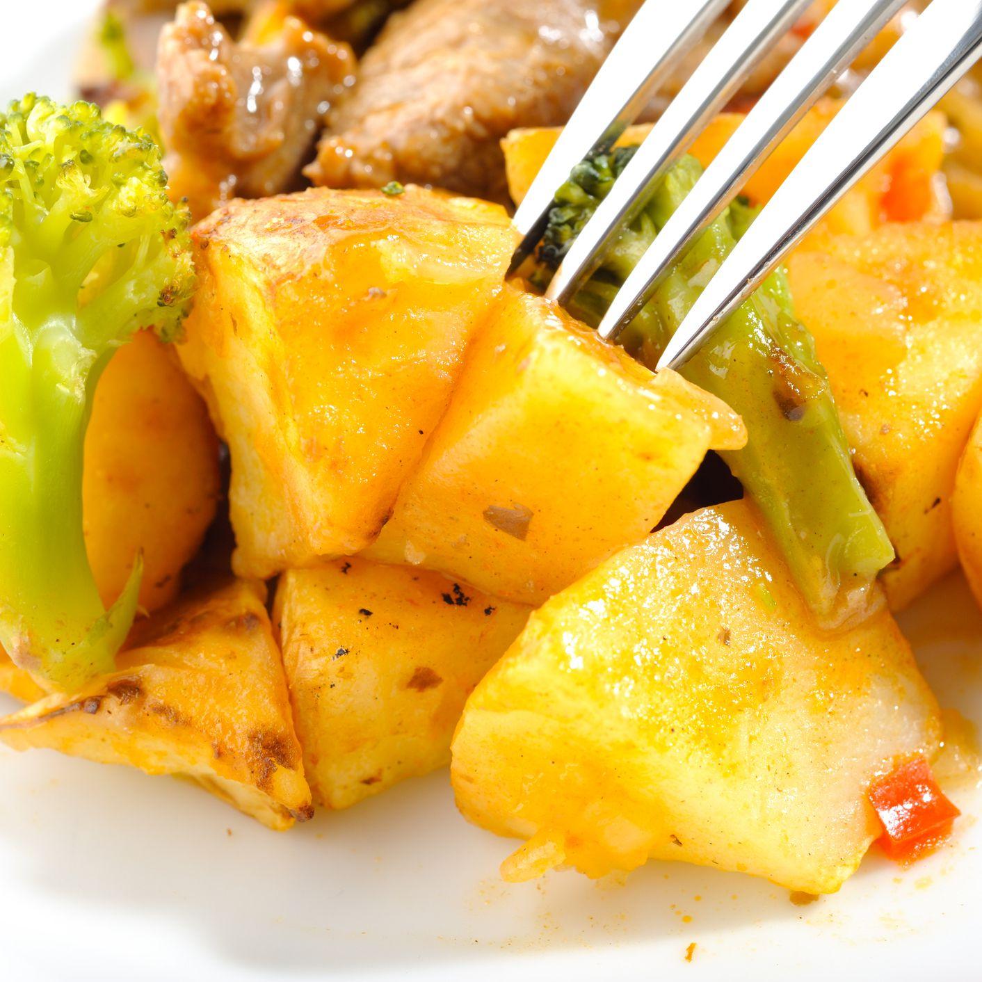 Vegan Broccoli And Potato Curry Recipe