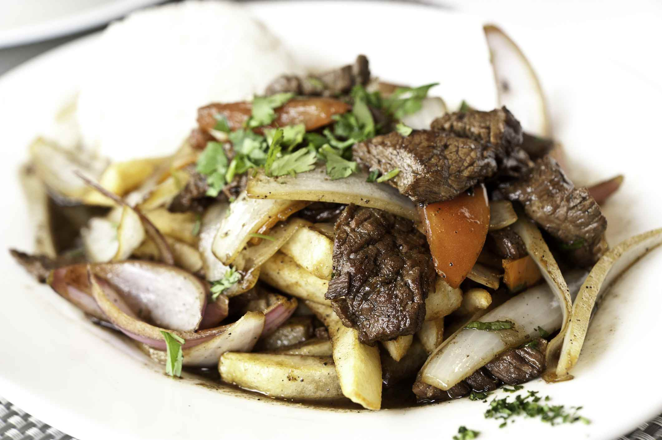 Beef and Potato Stir-fry