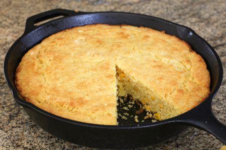 Buttery Cornbread With Corn Kernels