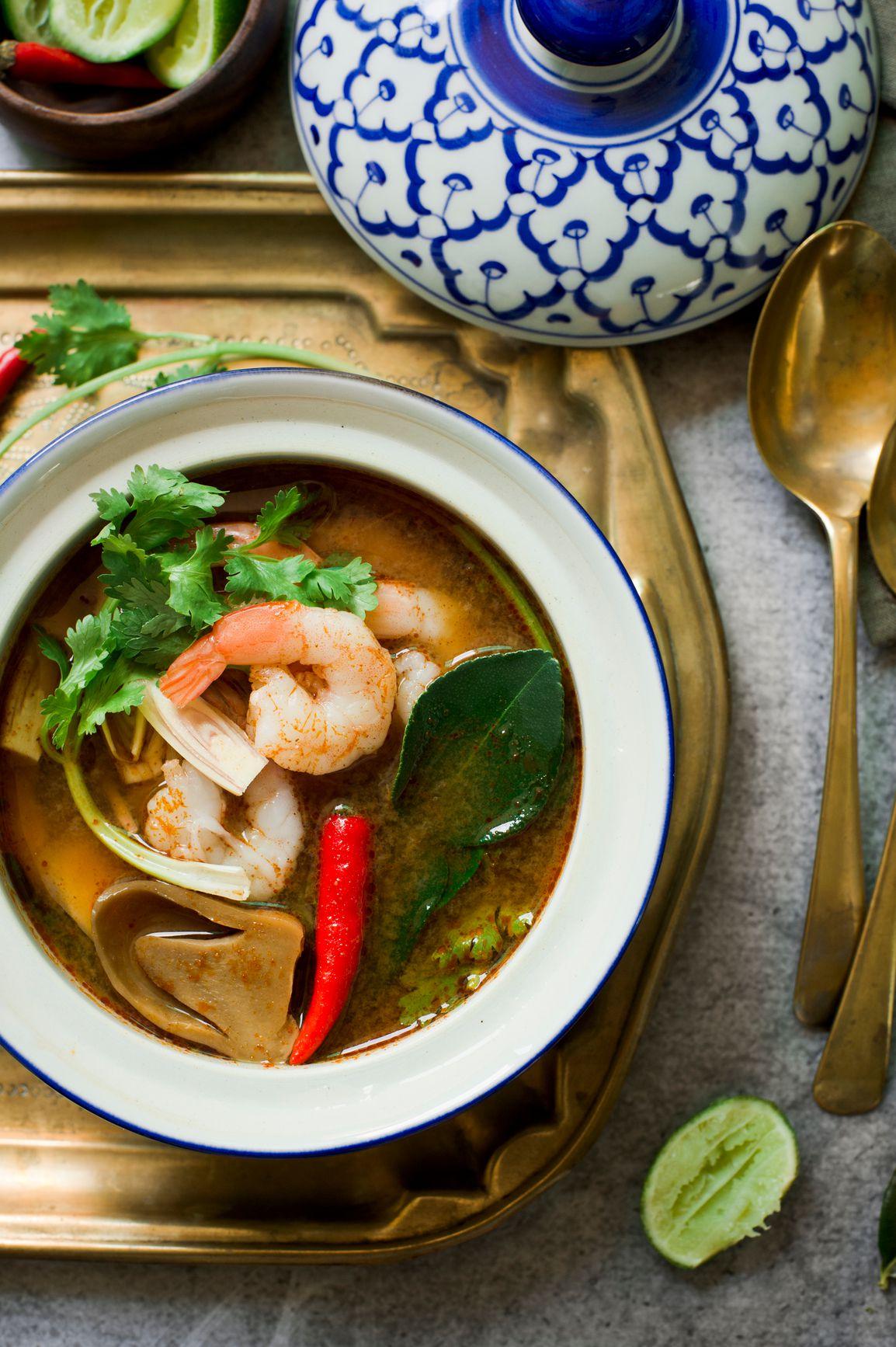 Tom Yum Talay: Thai Seafood Soup