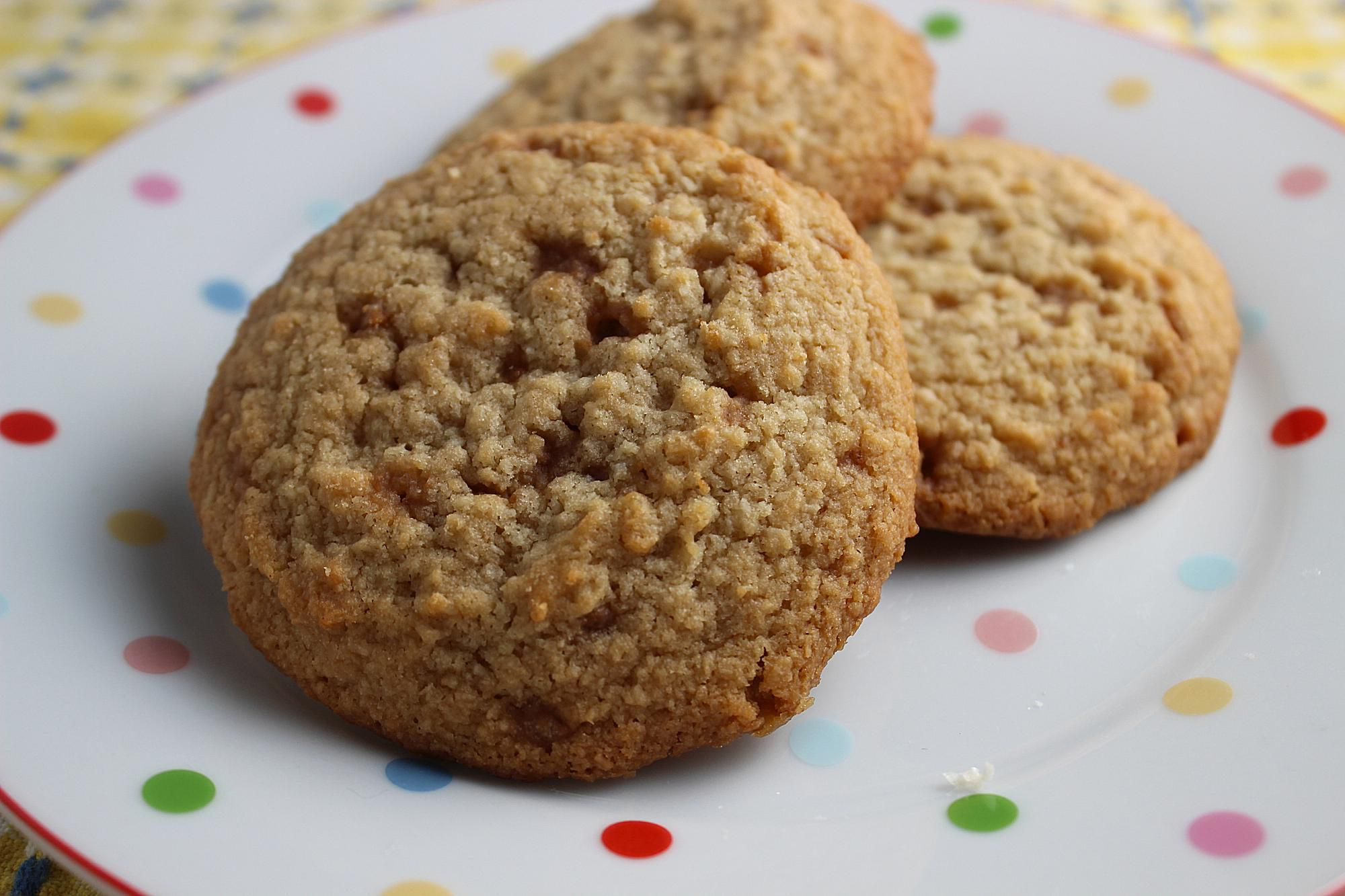 My Mom's Oatmeal Cookies