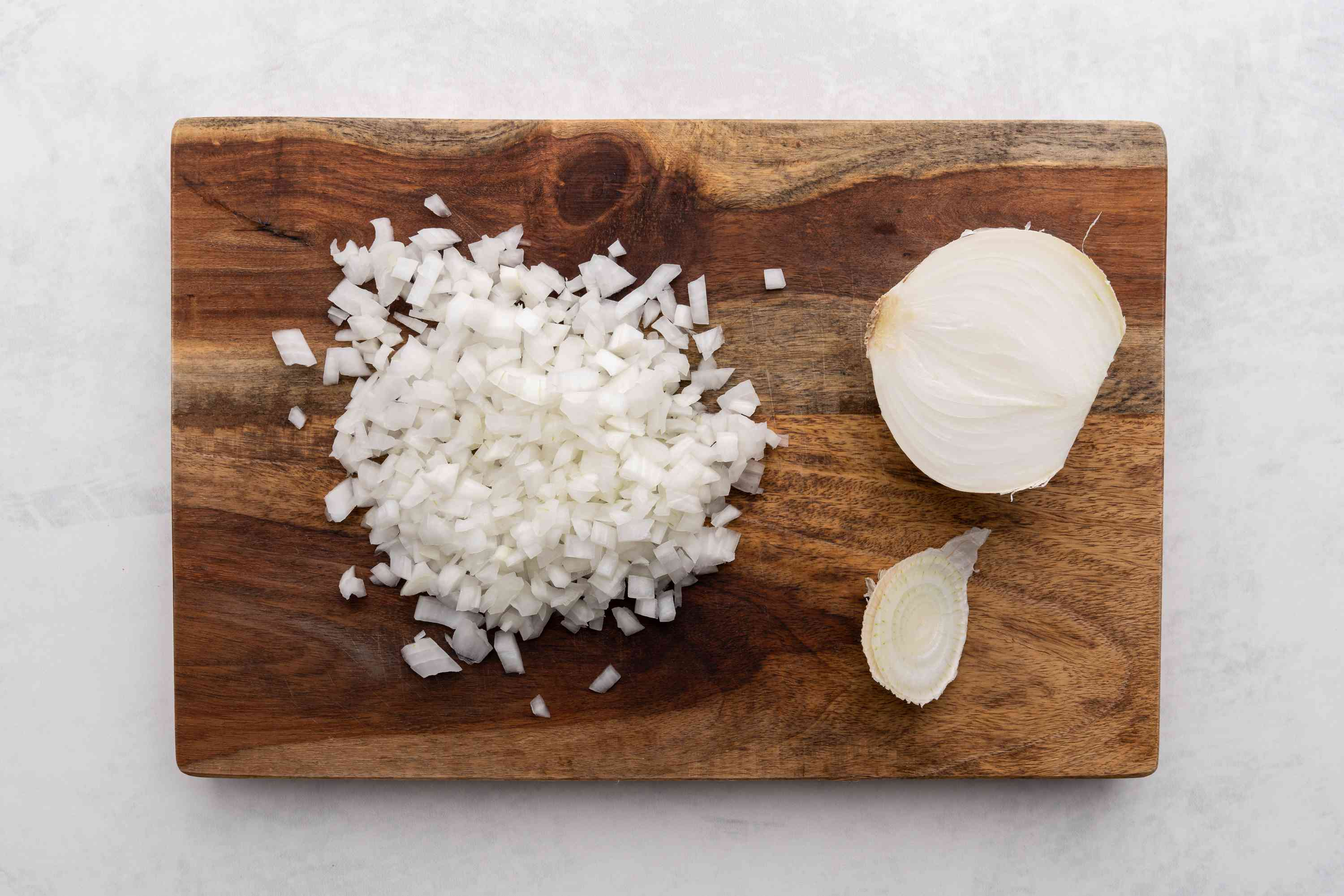 onion diced into pieces