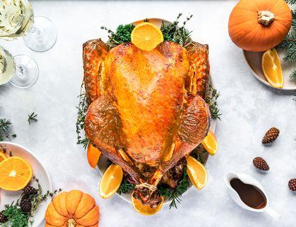 Balsalmic and honey glazed roast turkey recipe