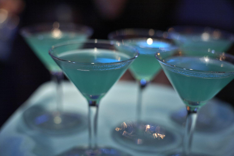 Blue Lagoon Margaritas
