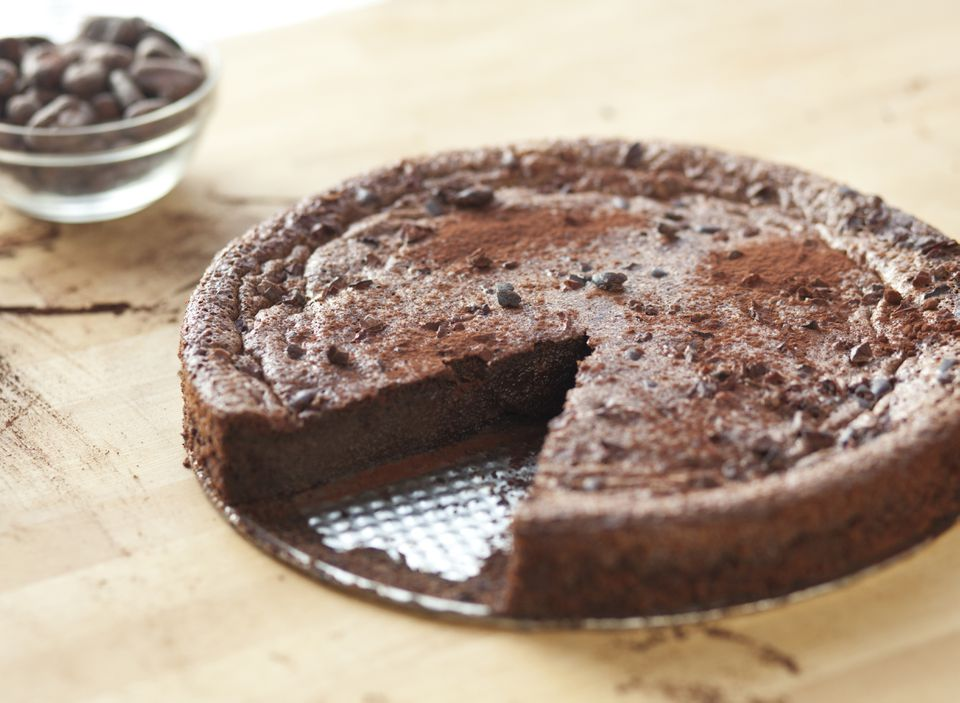 Delicious Flour-less Chocolate Cake