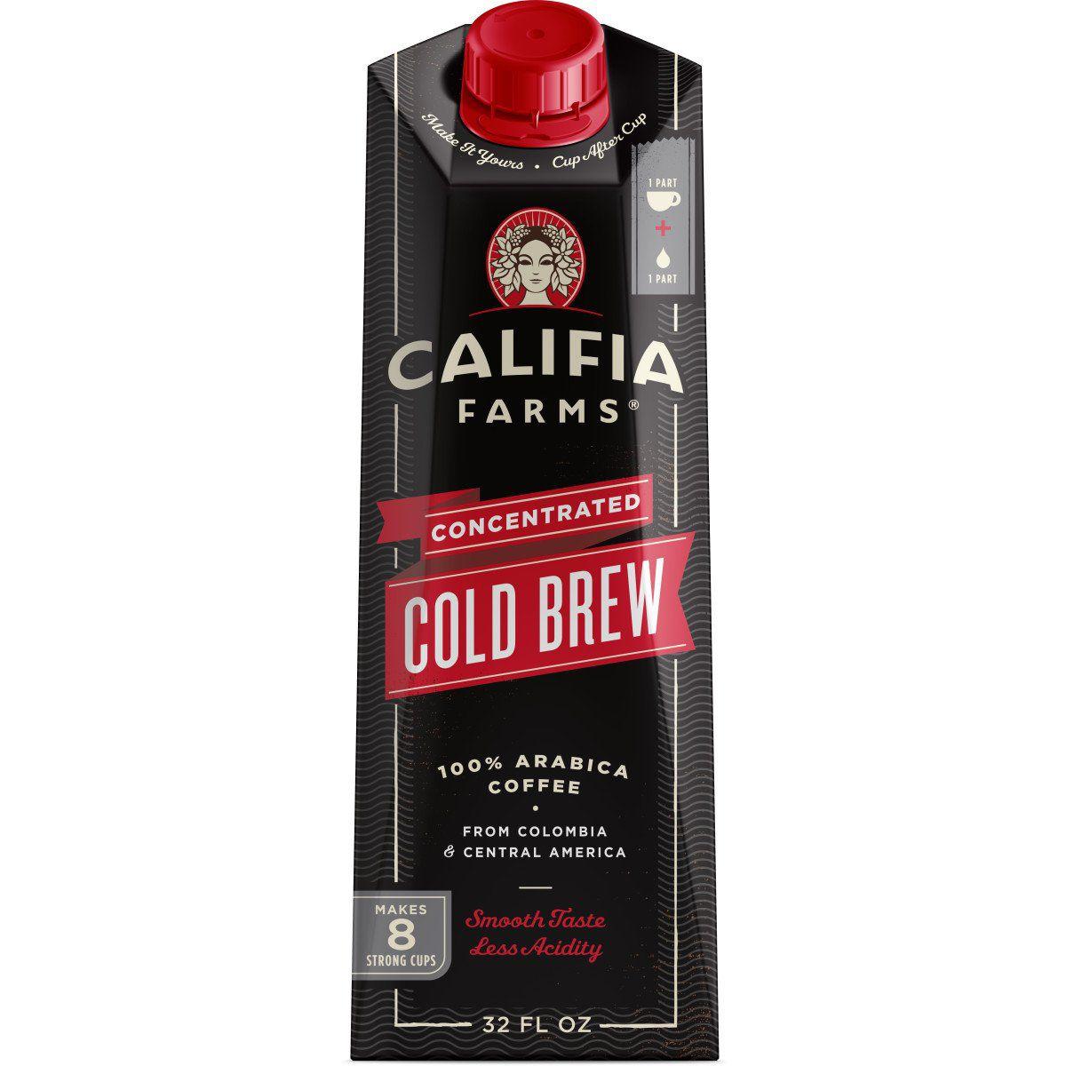 Califia Farms Concentrated Cold Brew Coffee