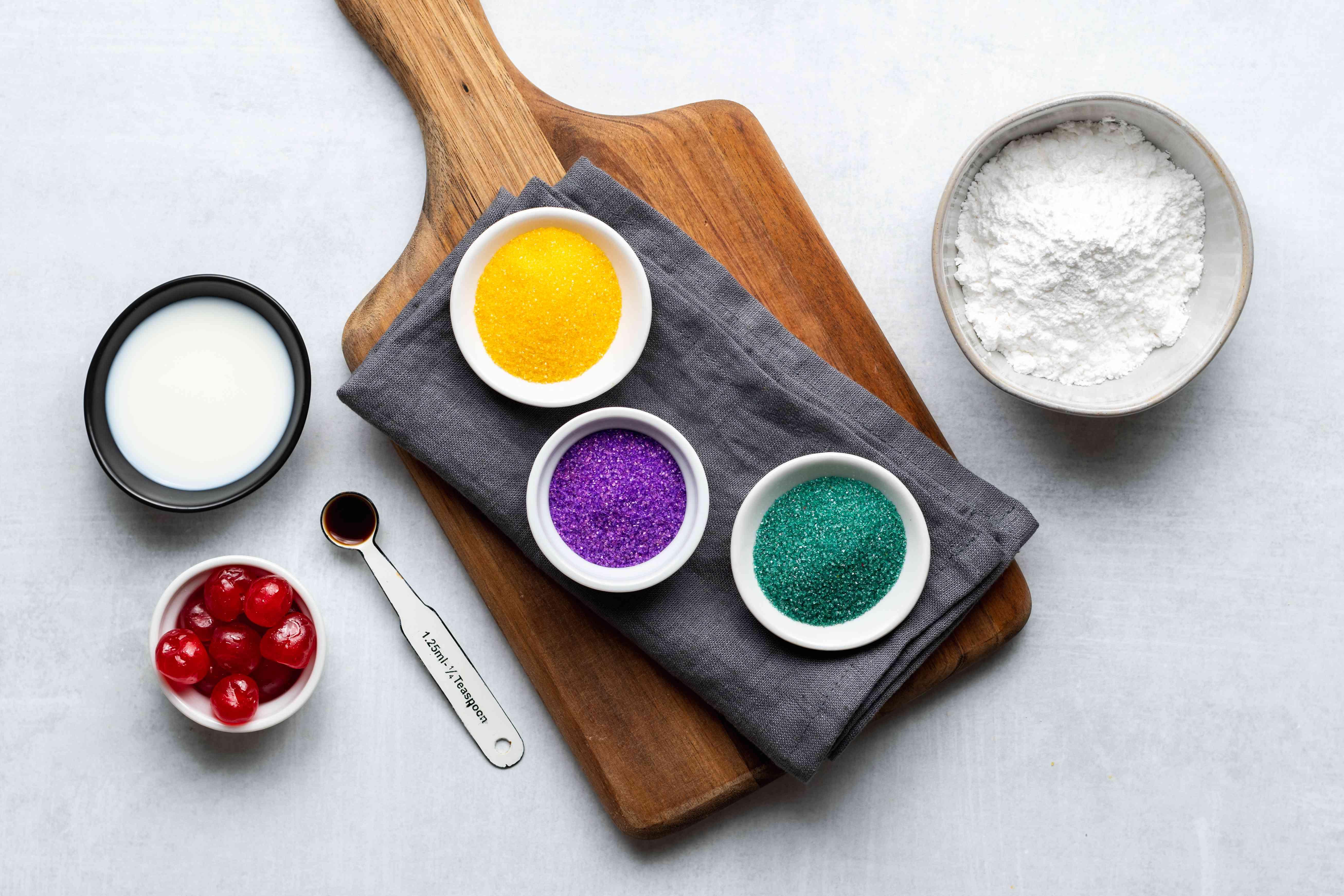 king cake glaze ingredients